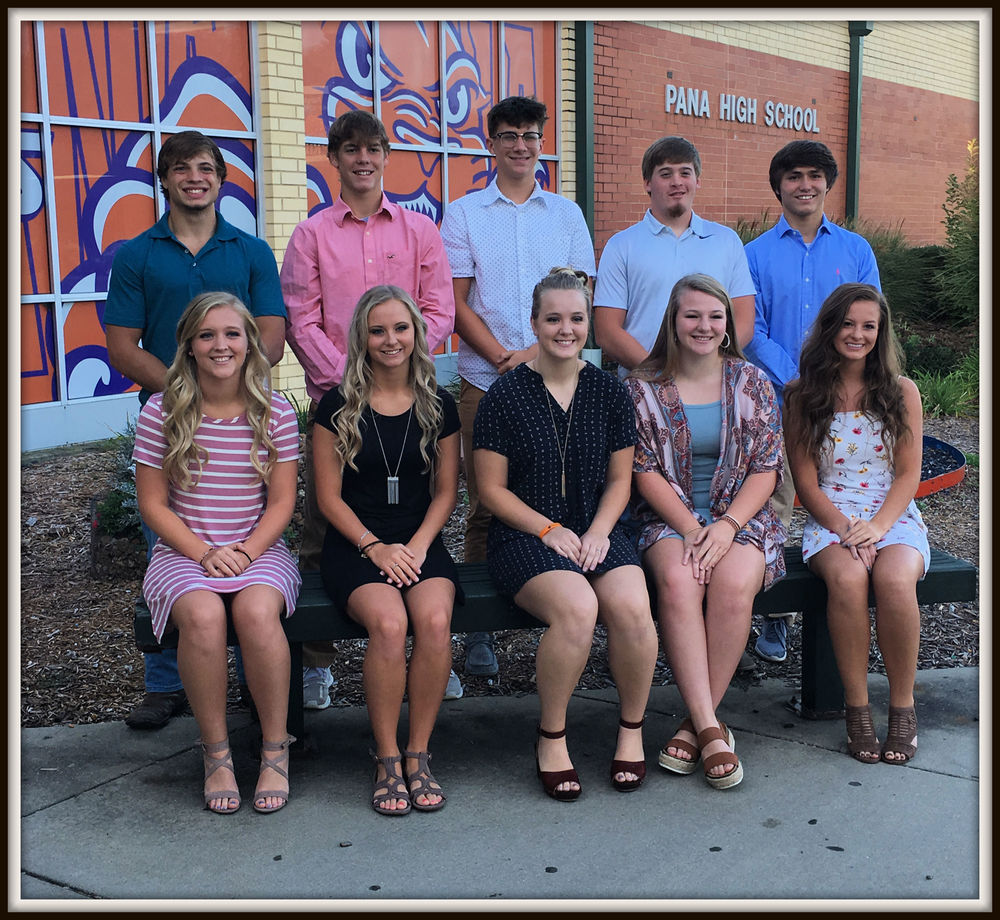 2019 PHS Homecoming Court