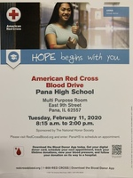 Red Cross Blood Drive Comes to PHS on February 11th