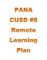 Important: Pana CUSD#8 Remote Learning Plan