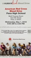 Upcoming Blood Drive at PHS Open to Public