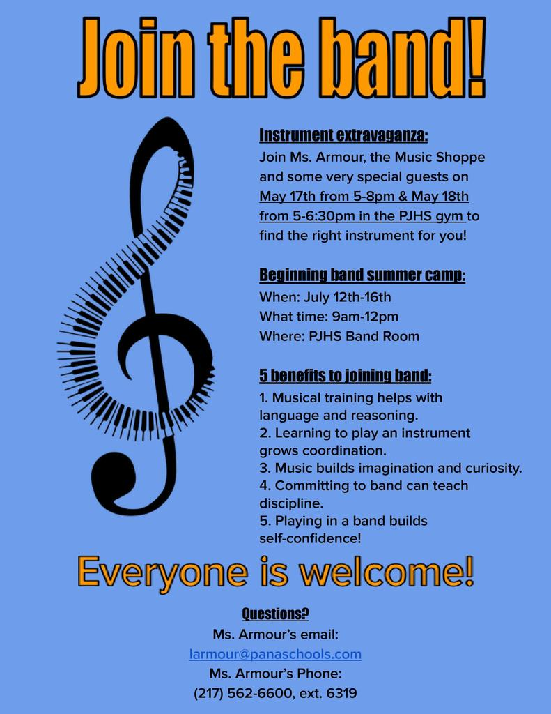 Beginning Band Flyer