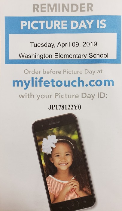 Picture Day is coming to Washington School!