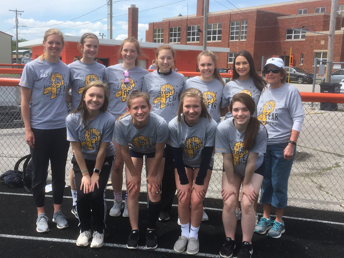 High School Girl's Track and Field team.