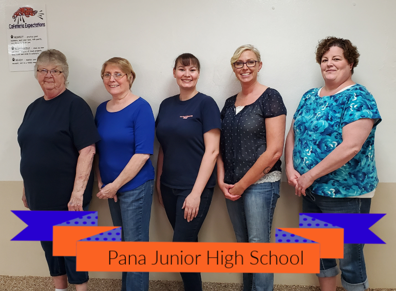 PJHS Cafeteria Staff