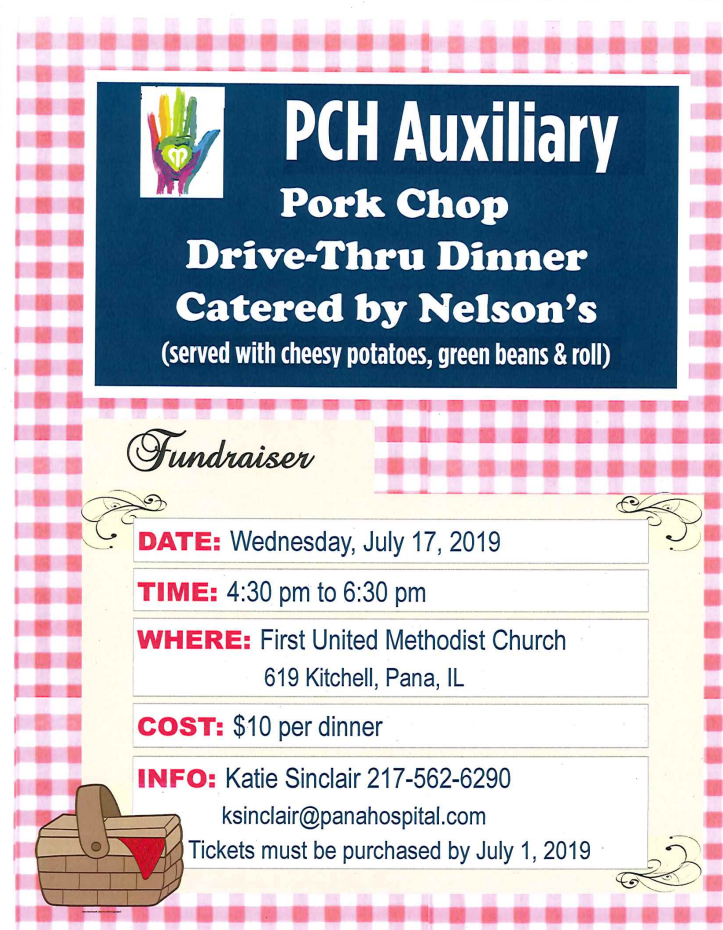 PCH Auxiliary Fundraiser