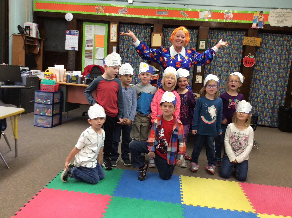 Ms. Frizzle and Mrs. Hrabak's Kindergarten Class