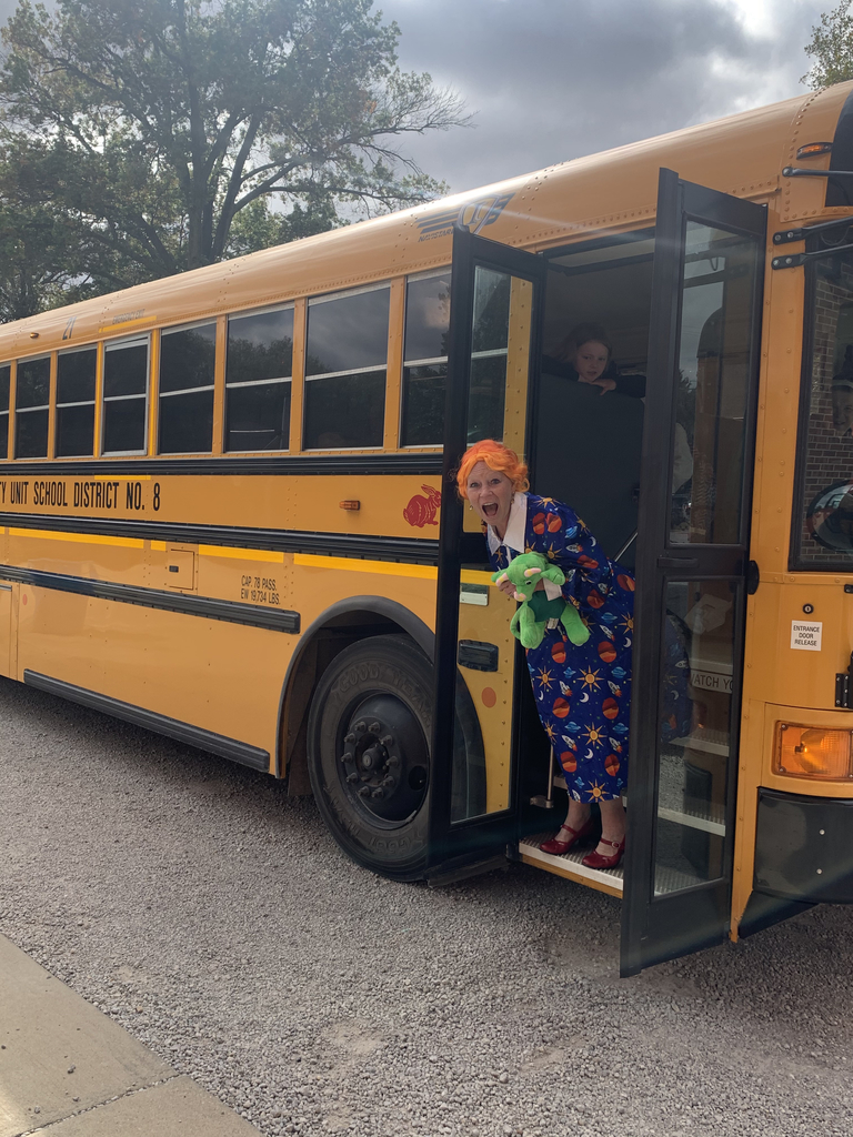 Our own Ms. Frizzle!
