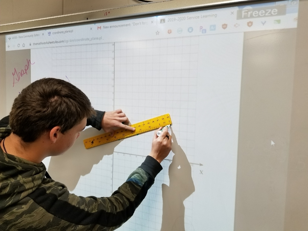 graph using smart projector