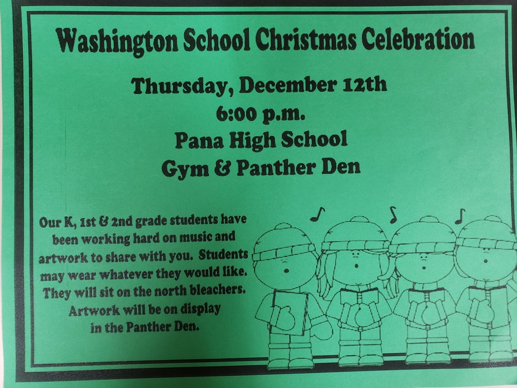Holiday Program tonight!! Please arrive 5:45 for the 6:00 program.