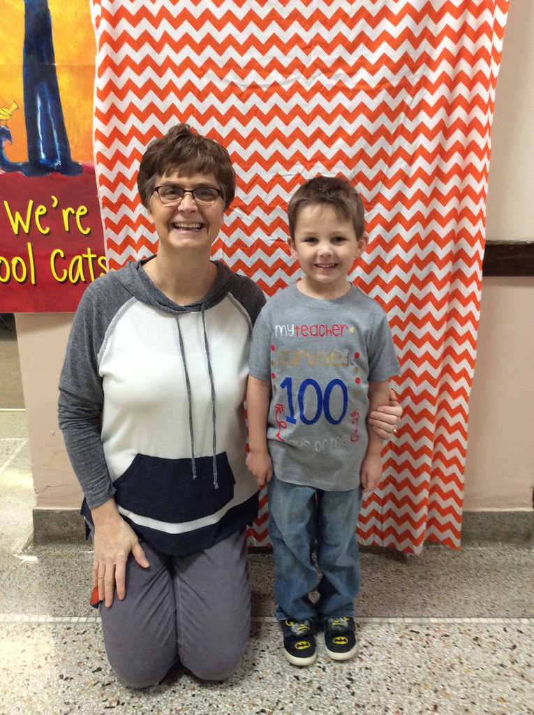 Great shirt for 100th day!